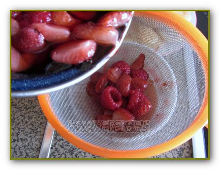 готовим ягодный торт