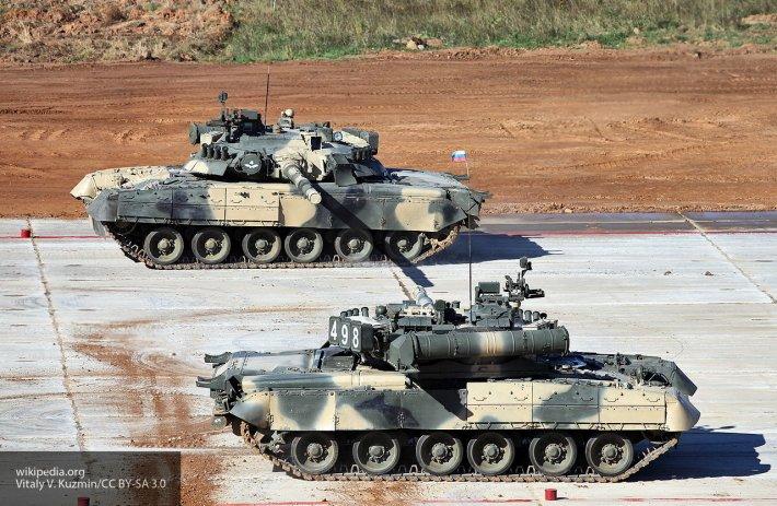 Ударная мощь России: представлен новейший «реактивный» танк Т-80БВМ