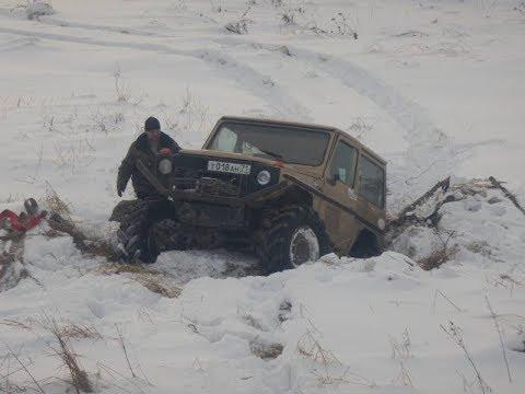 Гелик, Hunter и 2 человека в бесконечных рязанских снегах или настоящий экстрим