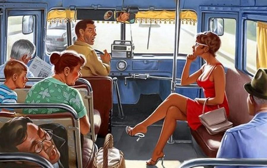 Скандал вокруг места в автобусе. Финал был неожиданным