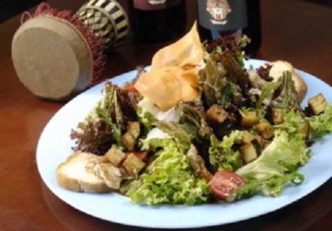 рецепт пошагово салата с курицей и баклажанами шаг 1