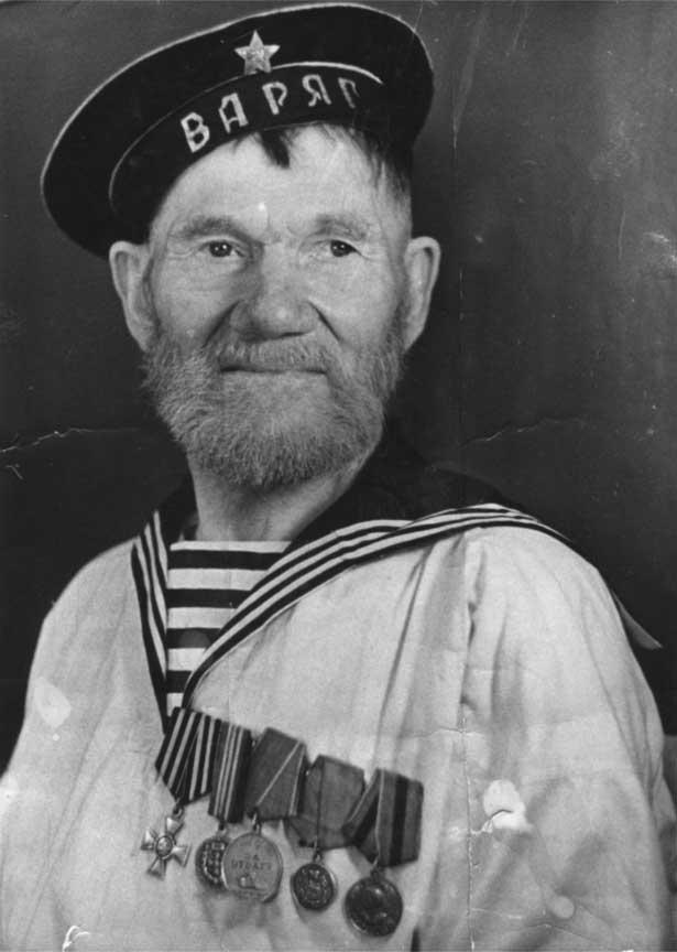 Моряк-ветеран крейсера «Варяг» Шутов Иван Никифорович (1)