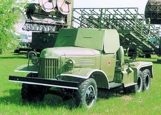 БМ-31 Андрюша (экспозиция технического музея ВАЗа)
