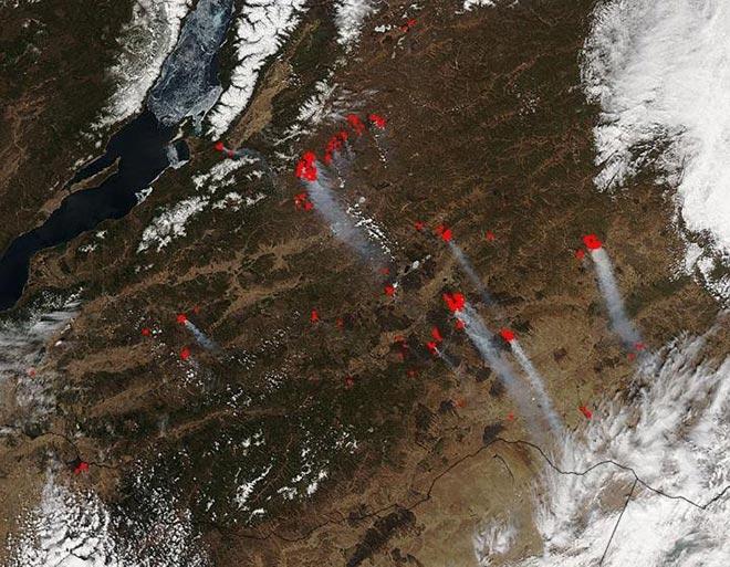 В России создадут орбитальный комплекс по обнаружению лесных пожаров