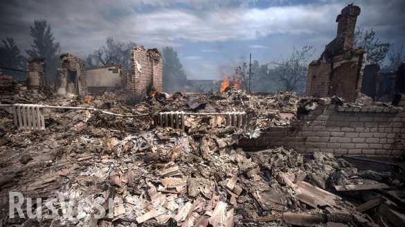 Украинский Донбасс будет безлюдным