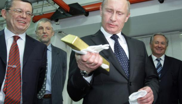 Россия наращивает золотой за…