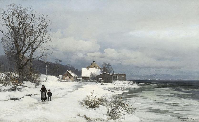 Уже матушка-зима ходит где-то рядом, Anders Andersen-Lundby