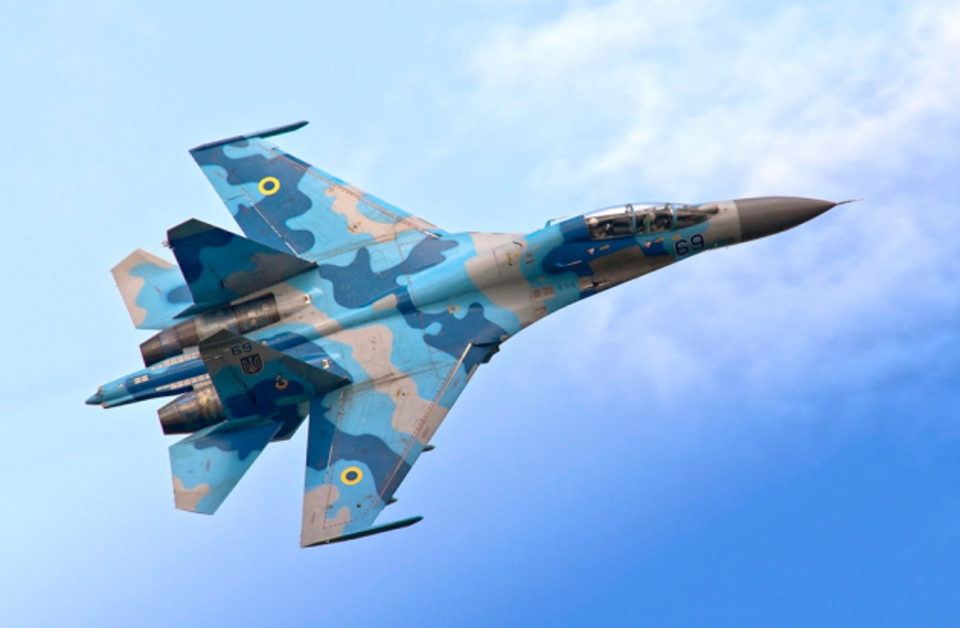 Су-27 одолели F-15 во время …