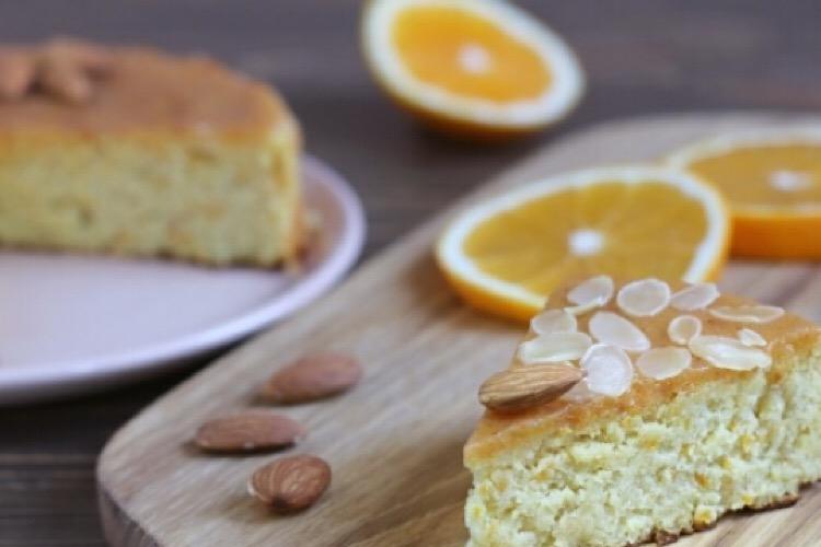 Отменный миндально-апельсиновый пирог