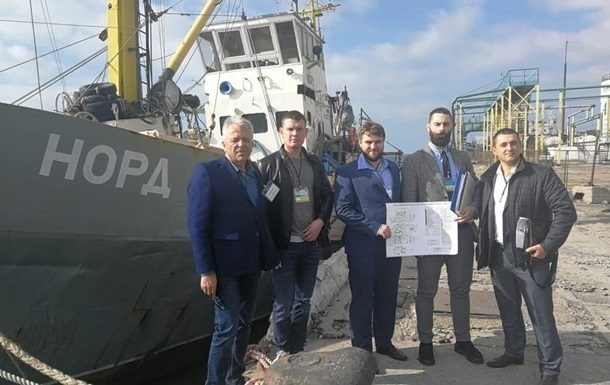 УкрСМИ: Арестованное судно «…
