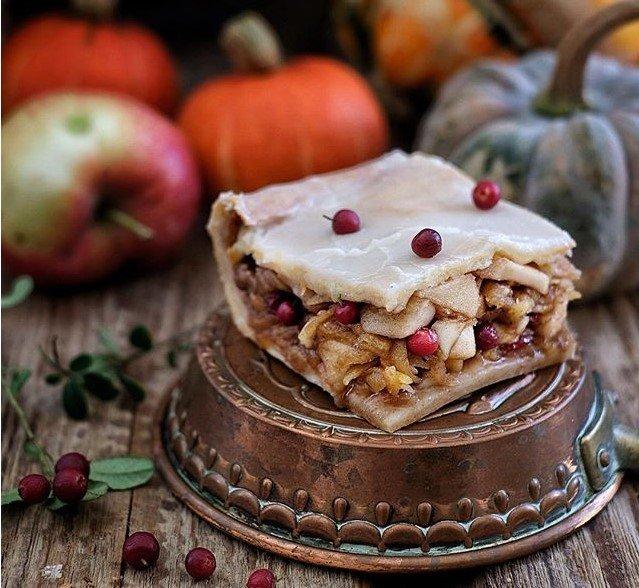 Райская осень: рецепты блюд с яблоками