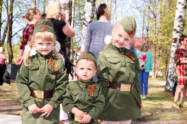 Россия детьми жива!