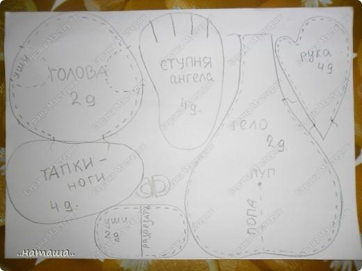 Игрушка, Куклы Шитьё: Куклята Пряжа, Пуговицы, Ткань. Фото 2