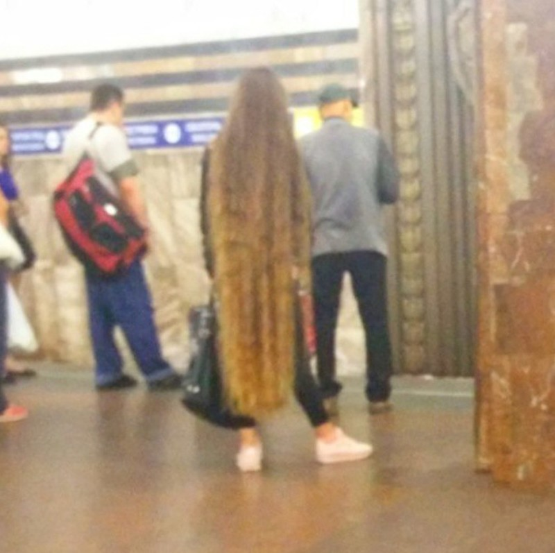 25. Рапунцель мдники, метро, смешно, фото