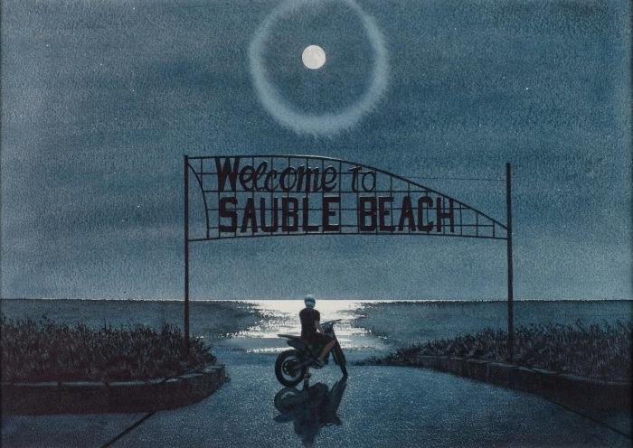 Добро пожаловать на пляж. Автор: Tim Gardner.
