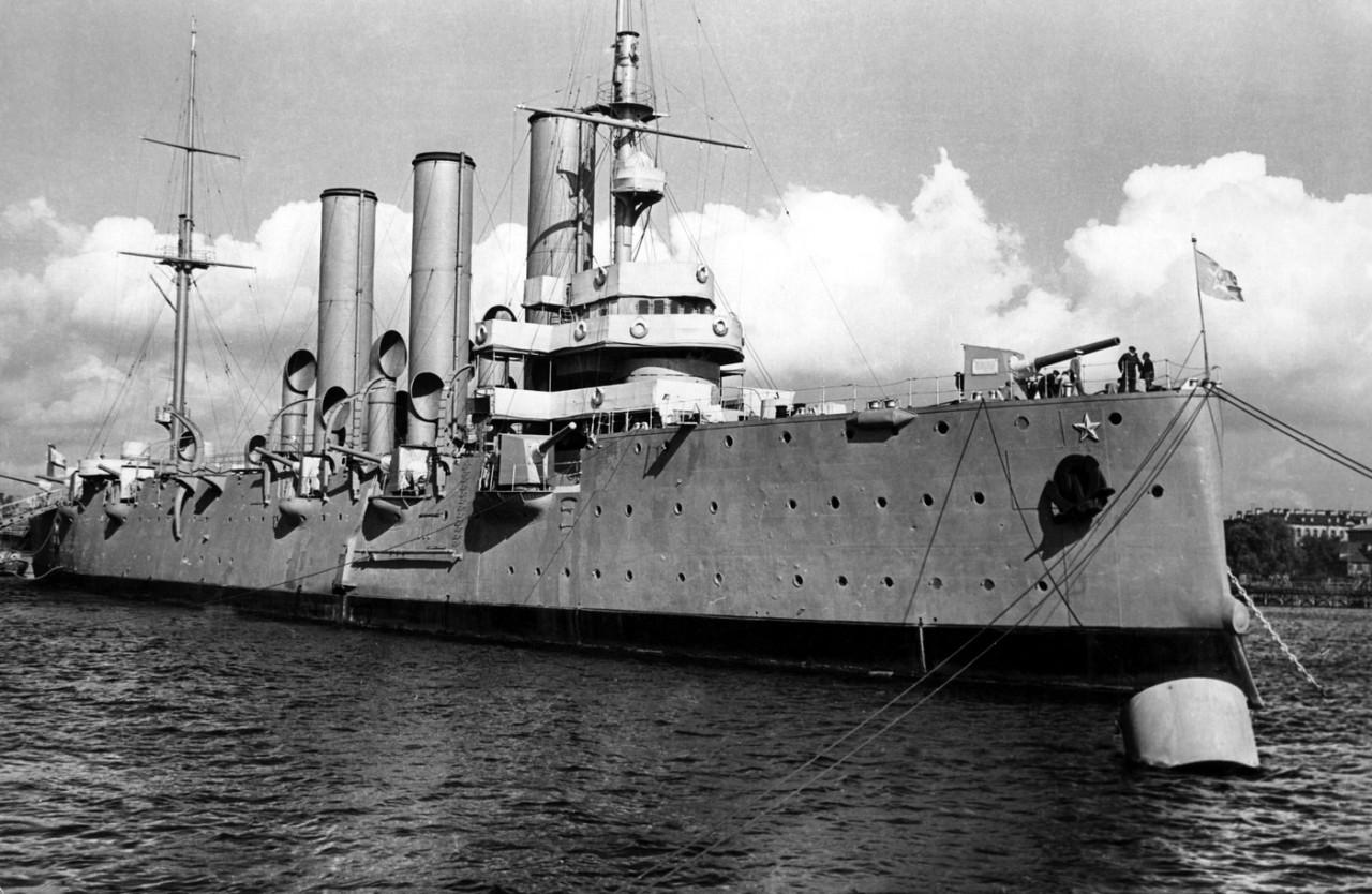 7 удивительных фактов из жизни крейсера «Аврора»