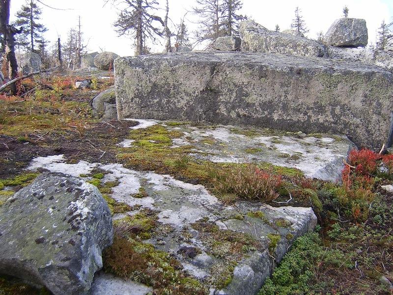 Мегалиты Карелии. Гора Воттоваара