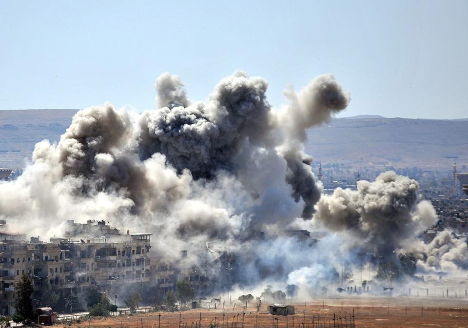 Сирия обвинила США в ударе п…