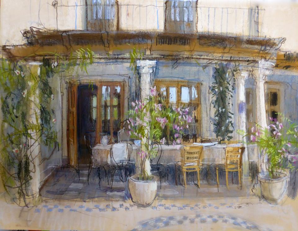 «Мне снился город. Он пах свободой, горячим кофе, прохладным ливнем…» Английская художница Felicity House