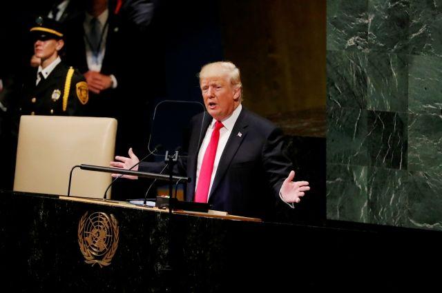 Генассамблея ООН встретила смехом речь Трампа