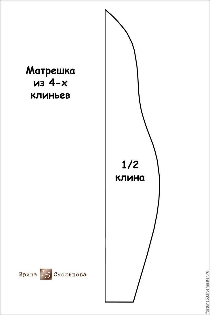 Русская народная фетровая сказка, или Создаем нежную весеннюю матрешку
