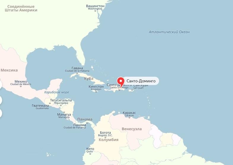 АТОР рассказал о выросшем на 225% турпотоке из России в Доминикану