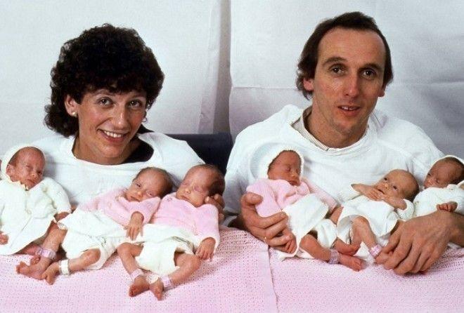 Первая в мире семья, родивша…