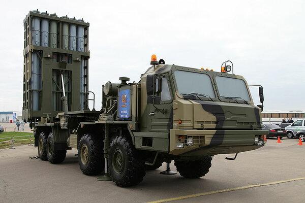 "С-350 ""Витязь"" уничтожает на…"
