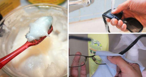 5  трюков для удаления царапин с очков