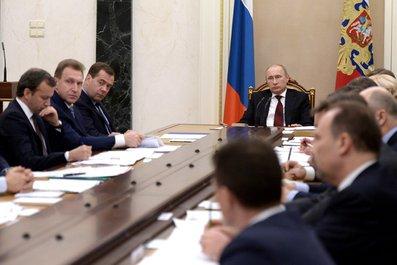 Совещание с членами Правительства - Новости 9 декабря 2014 года, вторник