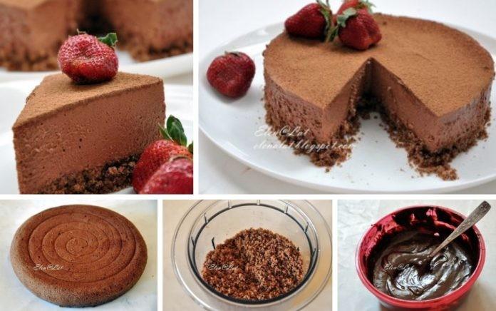 Настоящий Трюфельный торт «Пирамидка»