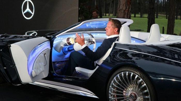 Daimler представил концептуальный кабриолет Vision Mercedes-Maybach 6