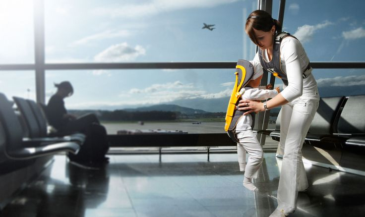 Система безопасности ребенка при авиаперелете