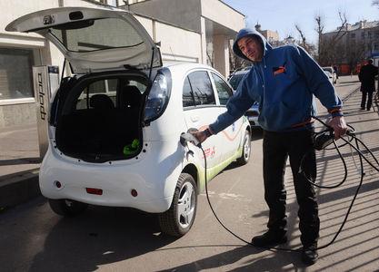 В России через год появится каршеринг электромобилей