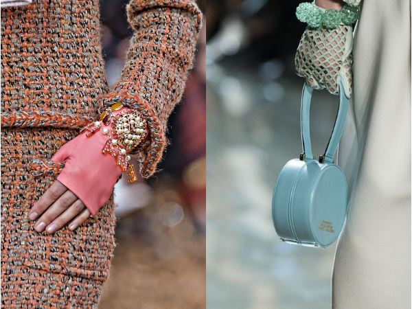 Кожа, прозрачность и блеск: перчатки - яркий аксессуар на зиму-весну 2019