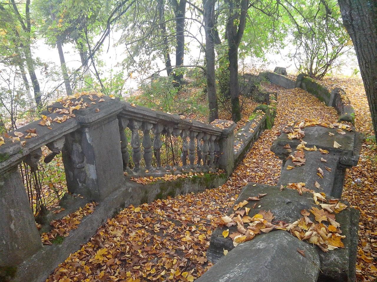 Лестница в Пушкинских горах заброшенное, красиво, мир без людей, природа берет свое, фото, цивилизация