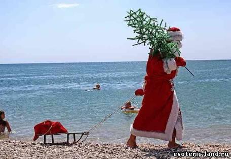 Юмор про Деда Мороза, Новый Год и 1-е января