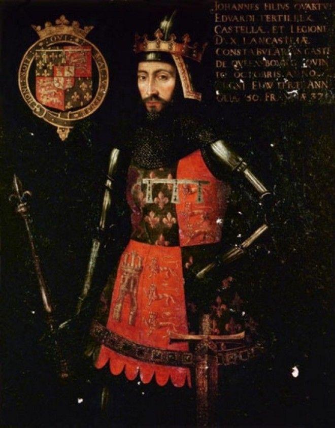 Джон Гонт 1й герцог Ланкастер третий сын короля Эдуарда III Фото megacuriosocombr