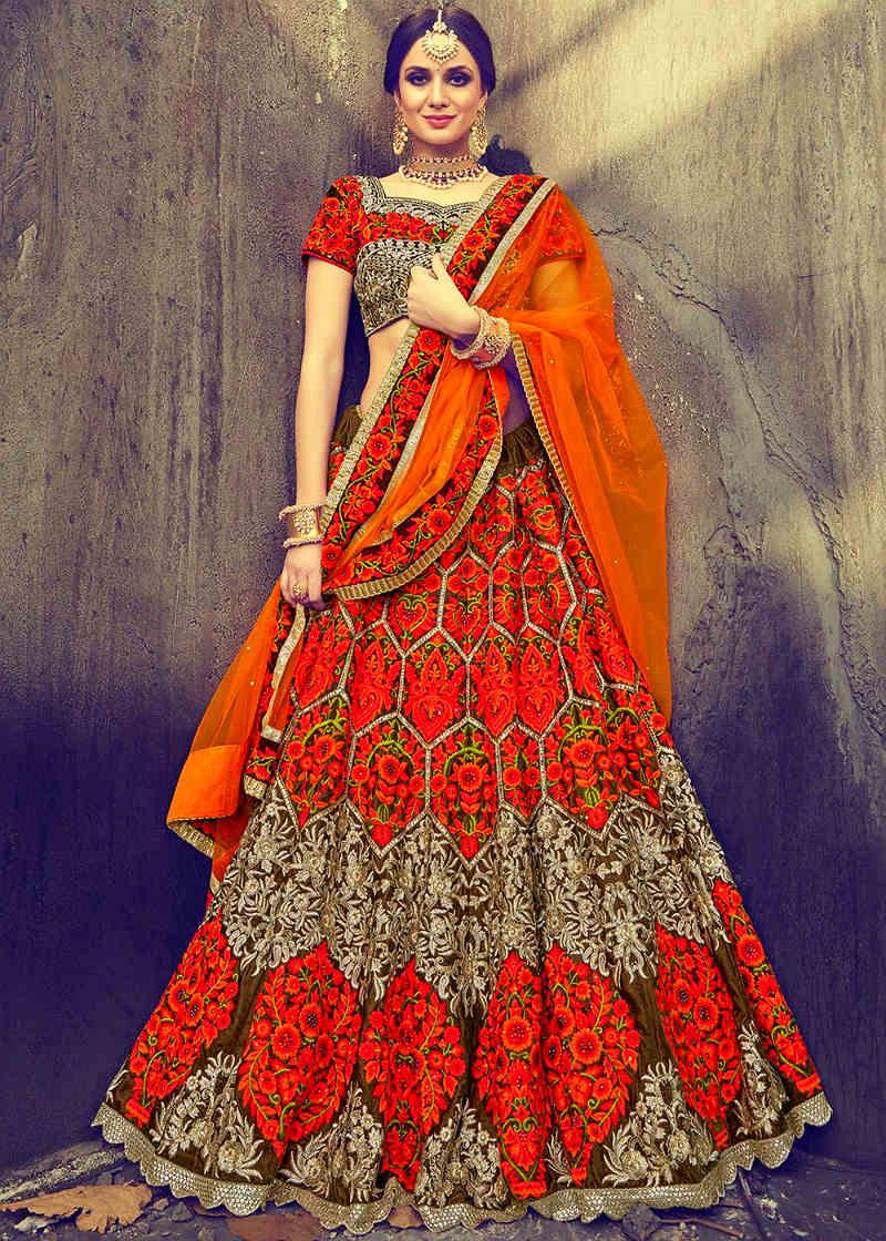 Красивые платья в индийском стиле — достойные богинь, фото № 10