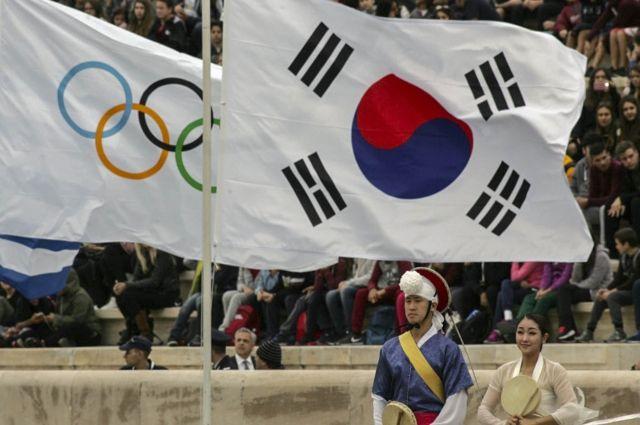 Сеул поддержал решение Москвы не препятствовать спортсменам выступать на ОИ