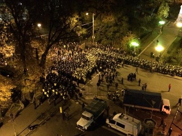 Киев ночь с 17 на 18