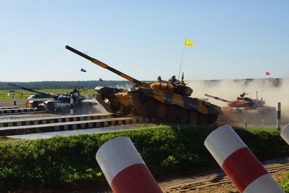 Как российские танкисты выиграли финальную гонку Армейских игр