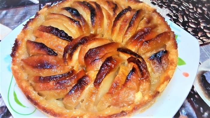 Нормандский яблочный пирог. Пирог, Пирог яблочный, Кулинария, Рецепт, Видео, Еда, Выпечка, Духовка