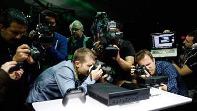 Microsoft представила Xbox O…