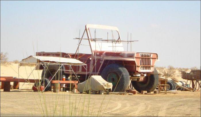 Гигантские автомобили арабского шейха (13 фото)