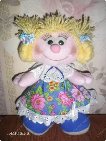 Игрушка, Куклы Шитьё: Куклята Пряжа, Пуговицы, Ткань. Фото 15