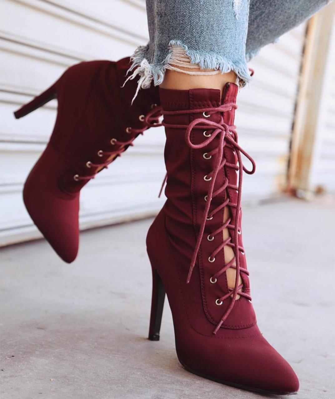 Модная обувь осени 2017: в тренде красный цвет