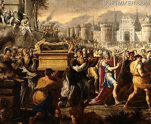 Domenico_Gargiulo_David_bearing_the_ark_of_testament_into_Jerusalem