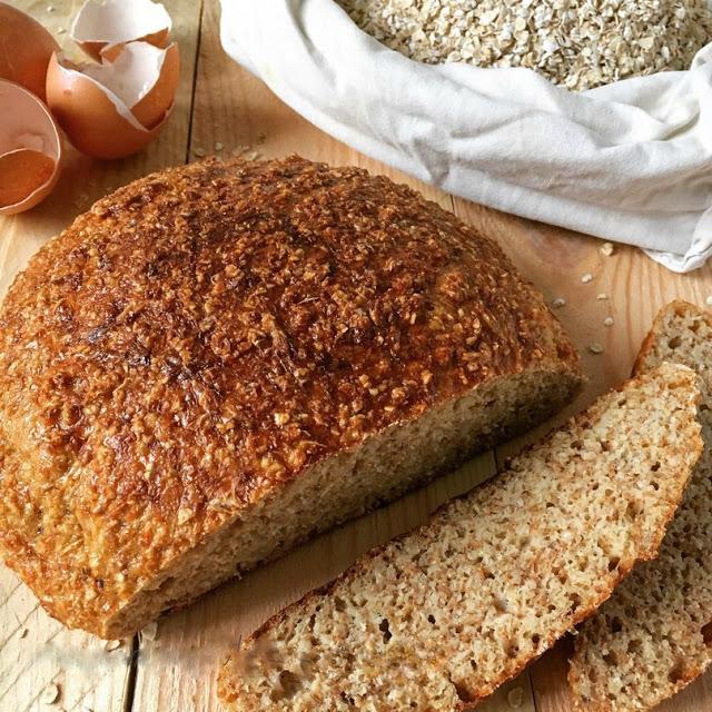 Хлеб из отрубей с творогом