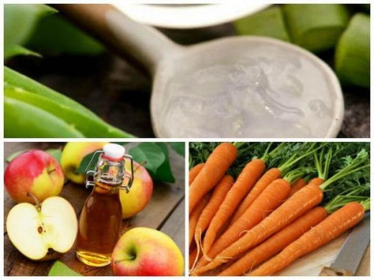 Натуральное средство из алоэ вера, моркови и яблочного уксуса поможет победить варикоз